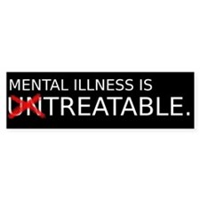 Untreatable Bumper Sticker