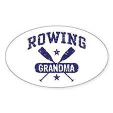 Rowing Grandma Decal