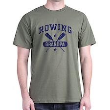 Rowing Grandpa T-Shirt
