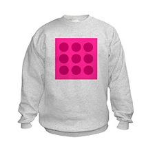 'Pink Polka Dot' Sweatshirt