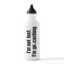 I'm Not Lost Sports Water Bottle
