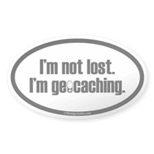 I'm Not Lost Stickers