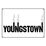 Youngstown Smokestack Banner