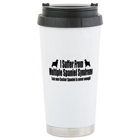 Cocker Spaniel Ceramic Travel Mug