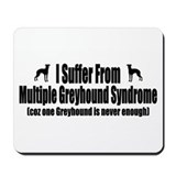 Greyhound Mousepad