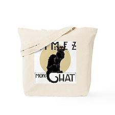Love My Cat Tote Bag