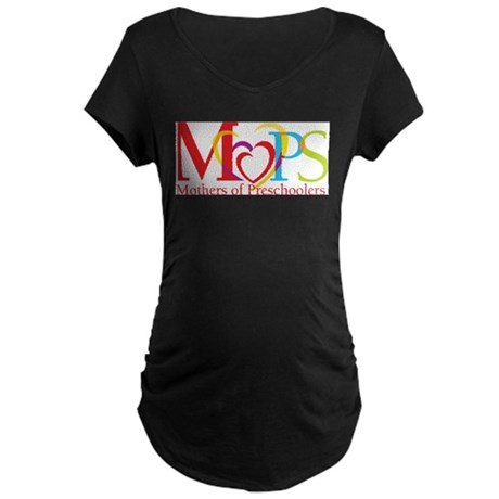 HBC MOPS Maternity Dark T-Shirt