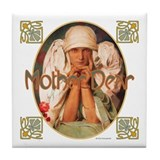 Mother Dear Tile Coaster