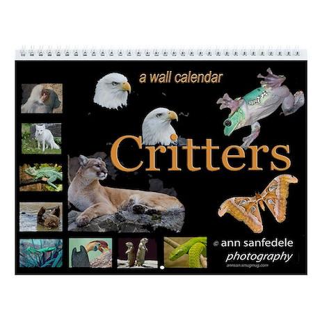 CRITTERS Wall Calendar