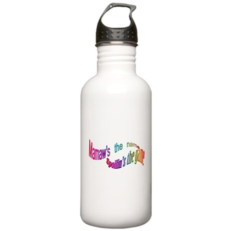 click 2 wheelin Stainless Water Bottle 1.0L