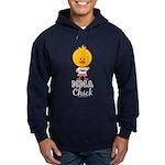 MMA Chick Hoodie (dark)