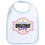 Stage Right Broadway Baby Bib