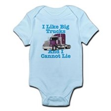 I Like Big Trucks Western Star Infant Bodysuit