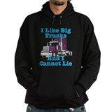 I Like Big Trucks Western Star Hoodie