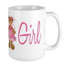 Flower Girl Bear Coffee Mug