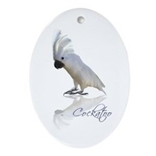cockatoo Ornament (Oval)