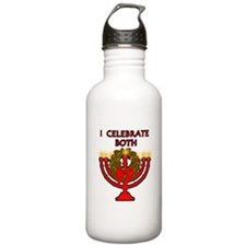 Christmas AND Hanukkah Water Bottle