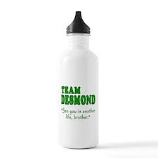 TEAM DESMOND with Quote Water Bottle