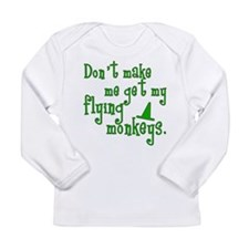 Flying Monkeys Long Sleeve Infant T-Shirt