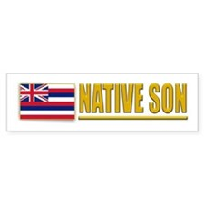 Hawaii Native Son Bumpersticker
