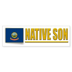 Idaho Native Son Bumpersticker (10pk)