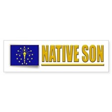 Indiana Native Son Bumpersticker