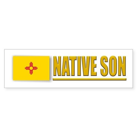 New Mexico Native Son Bumpersticker