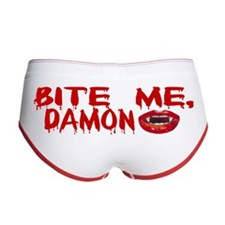 Bite Me Damon Women's Boy Brief