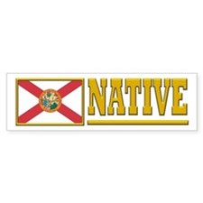 Florida Native Bumper Sticker