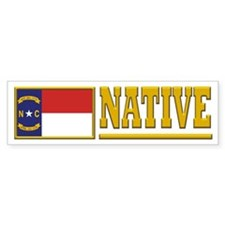 North Carolina Native Bumpersticker (10pk)