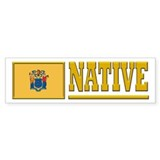 New Jersey Native Bumpersticker (10pk)