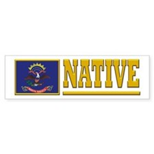 North Dakota Native Bumpersticker (10pk)