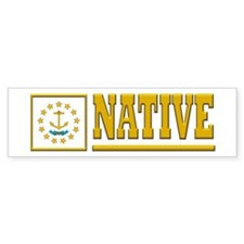 Rhode Island Native Bumpersticker (10pk)