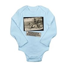 Circus Poster Ring of Fire Long Sleeve Infant Body