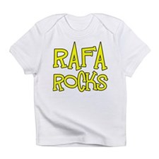 Rafa Rocks Tennis Design Infant T-Shirt