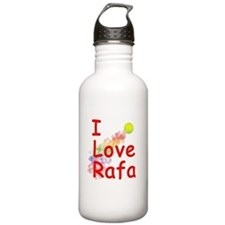 I Love Rafa Water Bottle