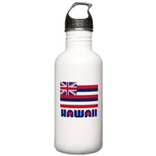 Flag of Hawaii Water Bottle