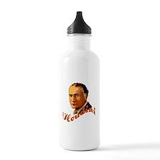 Harry Houdini Portrait Water Bottle