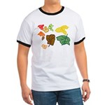 Autumn Leaves Ringer T