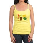 Autumn Leaves Jr. Spaghetti Tank