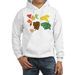 Autumn Leaves Hooded Sweatshirt