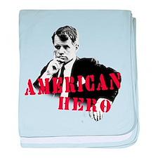 RFK American Hero baby blanket