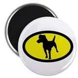 Patterdale Terrier Magnet