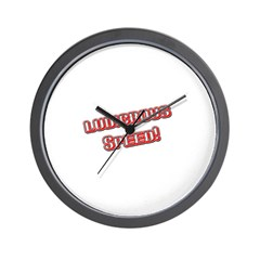 Ludicrous Speed Wall Clock