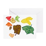 Autumn Leaves Greeting Cards (Pk of 20)