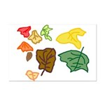 Autumn Leaves Mini Poster Print