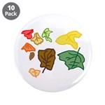 "Autumn Leaves 3.5"" Button (10 pack)"