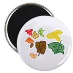 "Autumn Leaves 2.25"" Magnet (100 pack)"