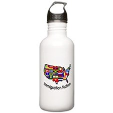 Cute Immigration Water Bottle