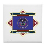 Utah Flag Tile Coaster